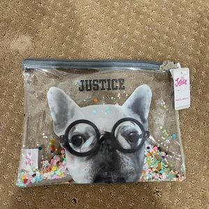 NWT Justice Pencil Pouch